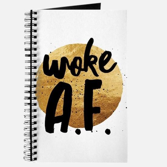 Woke A.F. Journal