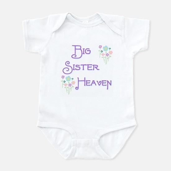 Big Sister Heaven Infant Bodysuit