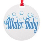 Water Baby Bubbles Ornament