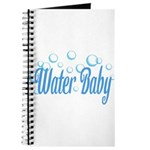 Water Baby Bubbles Journal