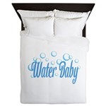 Water Baby Bubbles Queen Duvet