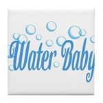 Water Baby Bubbles Tile Coaster