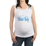Water Baby Bubbles Maternity Tank Top