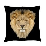 African Lion Everyday Pillow