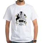 Higgins Family Crest White T-Shirt
