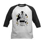 Higgins Family Crest  Kids Baseball Jersey