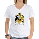 Hickson Family Crest Women's V-Neck T-Shirt