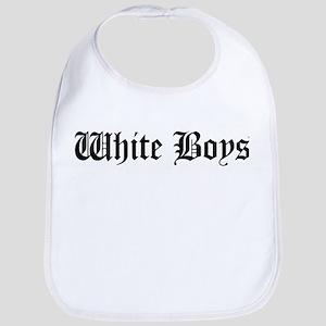 White Boys Bib