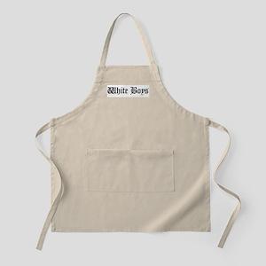 White Boys BBQ Apron