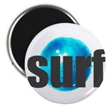 Surf Gray Blue Water Drop Magnets