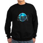 Surf Gray Blue Water Drop Sweatshirt