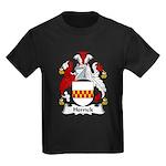 Herrick Family Crest Kids Dark T-Shirt