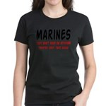Marines they're just that good Women's Dark T-Shi