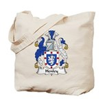 Henley Family Crest Tote Bag