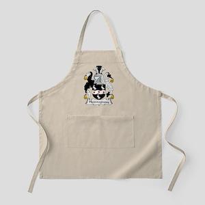 Hemingway Family Crest BBQ Apron