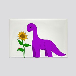 Sauropod and Sunflower Magnets