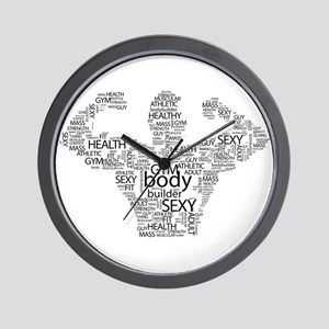 Fit Body Wall Clock