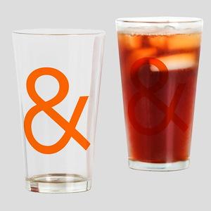 Ampersand Drinking Glass
