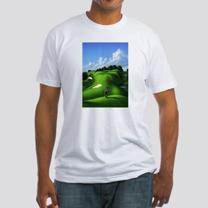 Just Love That Green 5 Fitted T-Shirt