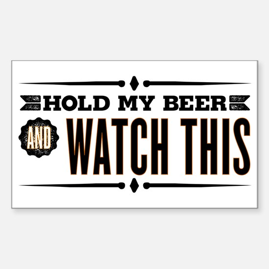 Hold My Beer Decal