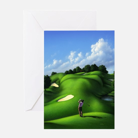 Just Love That Green 5 Greeting Card