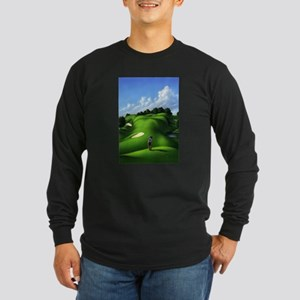 Just Love That Green 5 Long Sleeve Dark T-Shirt