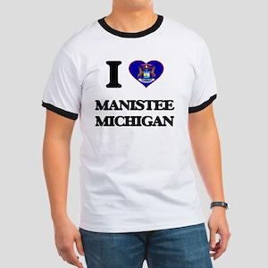 I love Manistee Michigan T-Shirt