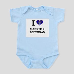 I love Manistee Michigan Body Suit