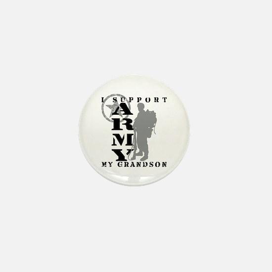 I Support Grandson 2 - ARMY Mini Button