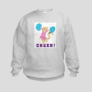 Cheerleader Kids Sweatshirt