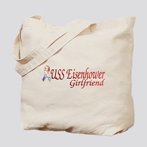 USS Dwight D. Eisenhower gir Tote Bag