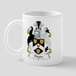 Hayes Family Crest Mug