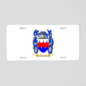 Lenard Aluminum License Plate