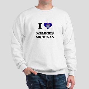 I love Memphis Michigan Sweatshirt