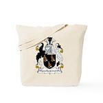 Hawkesworth Family Crest Tote Bag