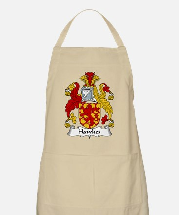 Hawkes Family Crest BBQ Apron