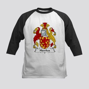 Hawkes Family Crest Kids Baseball Jersey