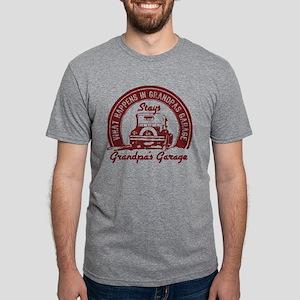 Grandpa's Garage Mens Tri-Blend Shirt T-Shirt