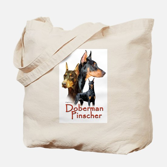 Doberman Pincher-1 Tote Bag