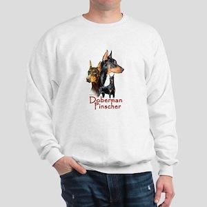 Doberman Pincher-1 Sweatshirt