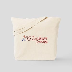 uss eisenhower grandpa Tote Bag