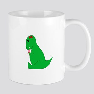 T-Rex Ice Cream Cone Mugs