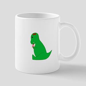 T-Rex Ice Cream Cone Mugs