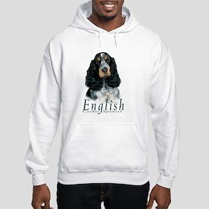 English Cocker Spaniel-1 Hooded Sweatshirt