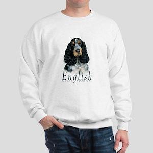 English Cocker Spaniel-1 Sweatshirt