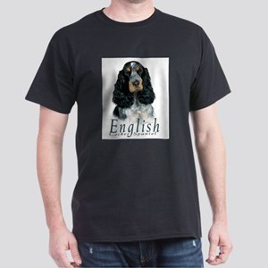 English Cocker Spaniel-1 Dark T-Shirt