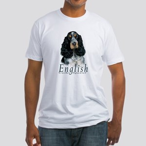 English Cocker Spaniel-1 Fitted T-Shirt