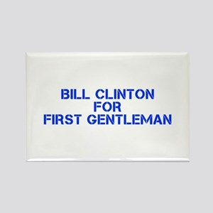 Bill Clinton for First Gentleman-Cle blue 500 Magn