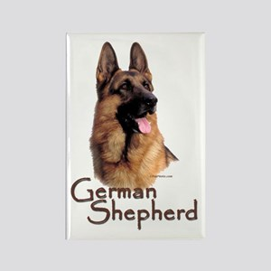 German Shepherd Dog-1 Rectangle Magnet