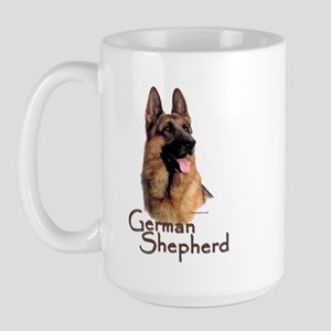 German Shepherd Dog-1 Large Mug